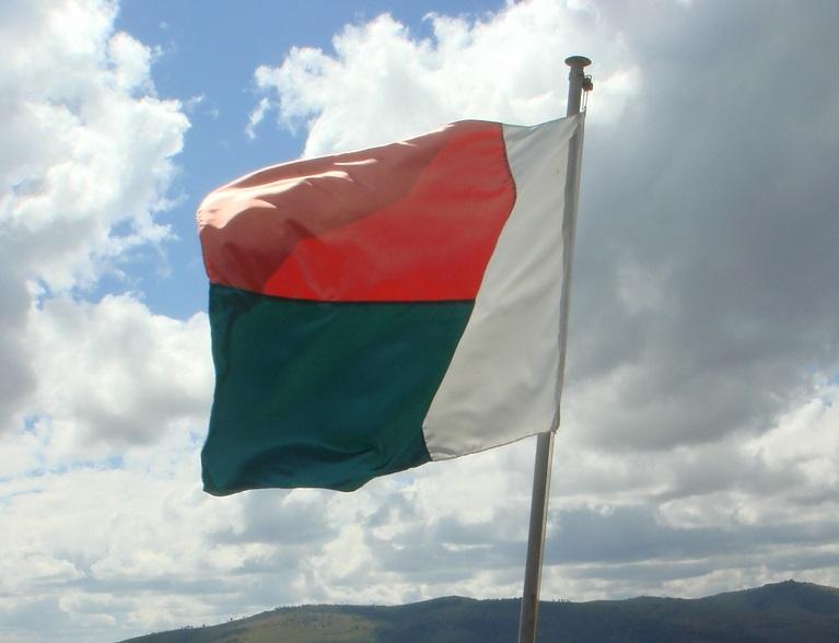 © Olivier Lejade | flickr CC BY-SA 2.0. Title: Madagascar's flag.
