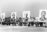 Berlin, Marx-Engels-Platz, Demonstration am 1. Mai 1953.