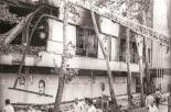 Bomb debris after assassination of President Mohammad-Ali Rajaei and Prime Minister Mohammad-Javad Bahonar in 1981