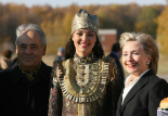 U.S. Secretary of State Hillary Clinton Besuch in Tatarstan vom 14 October 2009