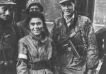 Soldatinnen des Battalion Zóska am 2. September 1944
