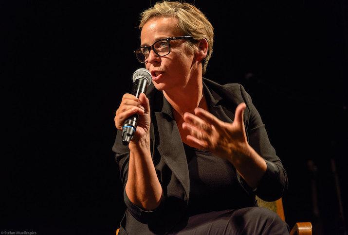 """Regisseurin Annekathrin Hendel bei der Premiere ihrer Dokumentation """"Anderson"""""""