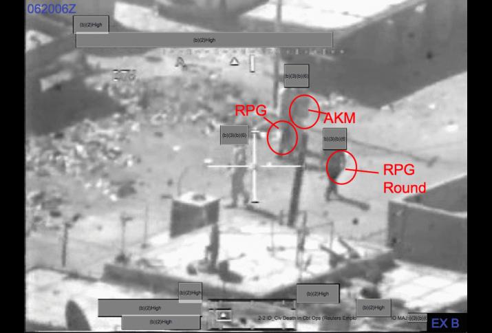 Luftangriffe in Bagdad auf Zivilisten vom 12. Juli 2007