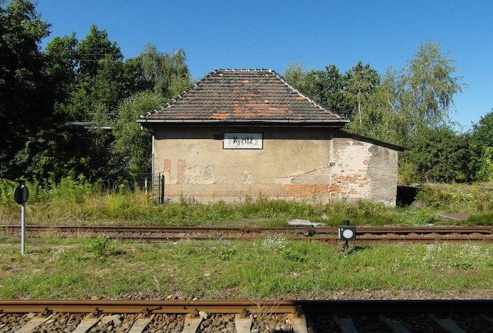 Bahnhof Kyritz im Landkreis Ostprignitz-Ruppin