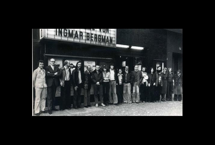 Die Mitarbeiter*innen von Arsenal und Forum 1976