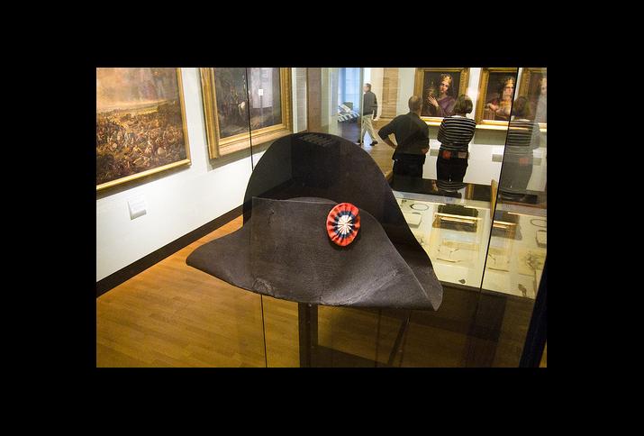Napoleons Hut, Ständige Ausstellung im Deutschen Historischen Museum Berlin