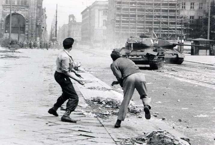 17 Juni 1953, Leipziger Straße, Berlin