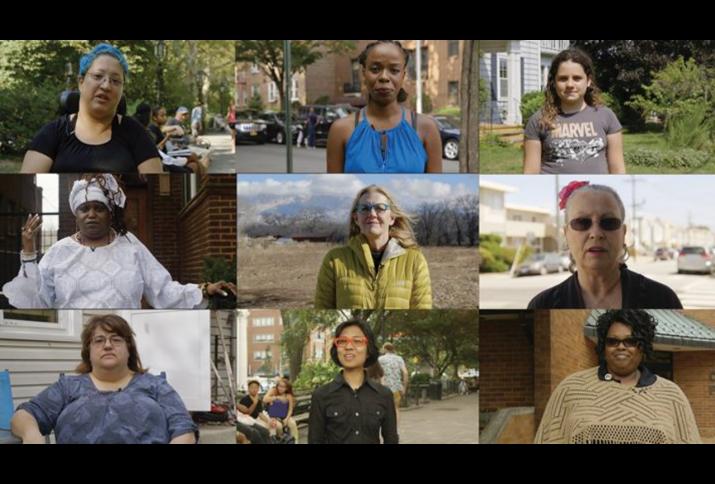 Filmstills aus den Dreharbeiten zu Yours in Sisterhood von Irene Lusztig (USA 2018).