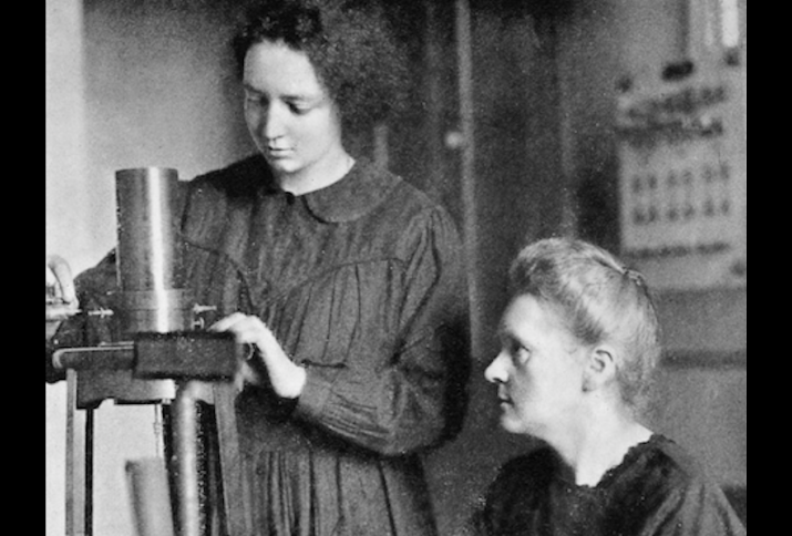 Foto: Marie Curie and her daughter Irene, 1925