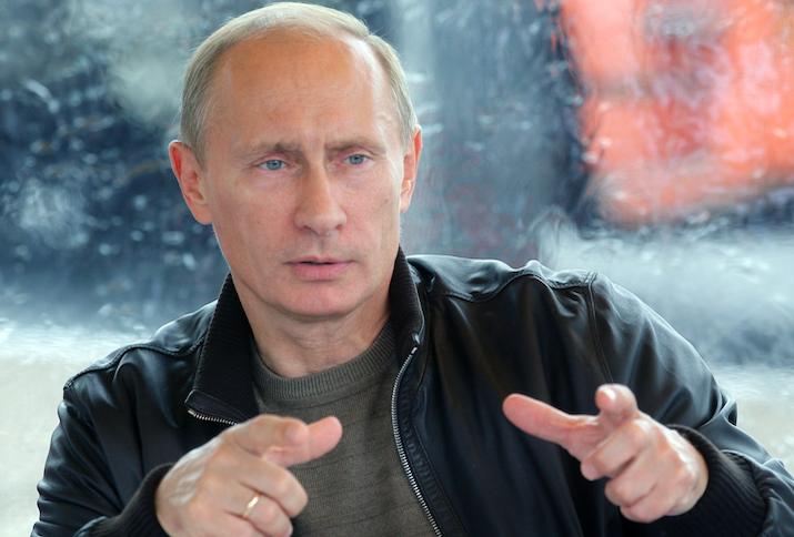 Portrait of Vladimir Putin