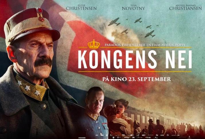 Filmplakat von Kongens Nei aus dem Jahr 2016
