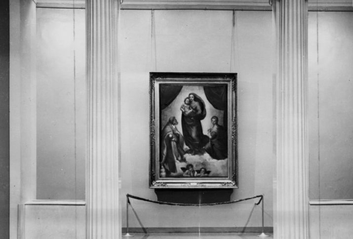 Sixtinische Madonna im Puschkin-Museum