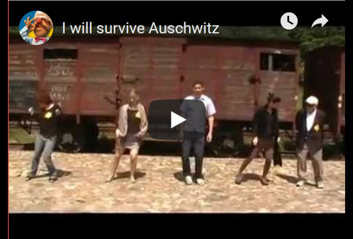 "Youtube Link auf das ""Dancing Auschwitz Video"""