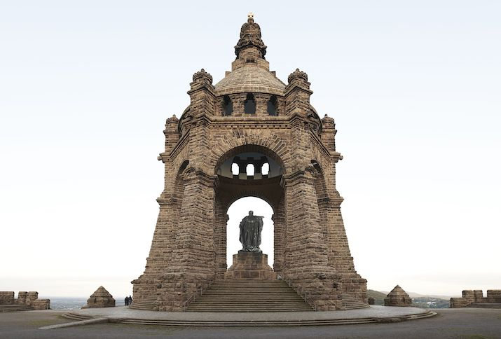 Das Kaiser-Wilhelm-Denkmal an der Porta Westfalica