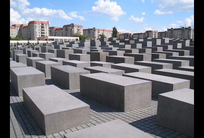 Holocaust-Mahnmal Berlin, 2006, K. Weisser