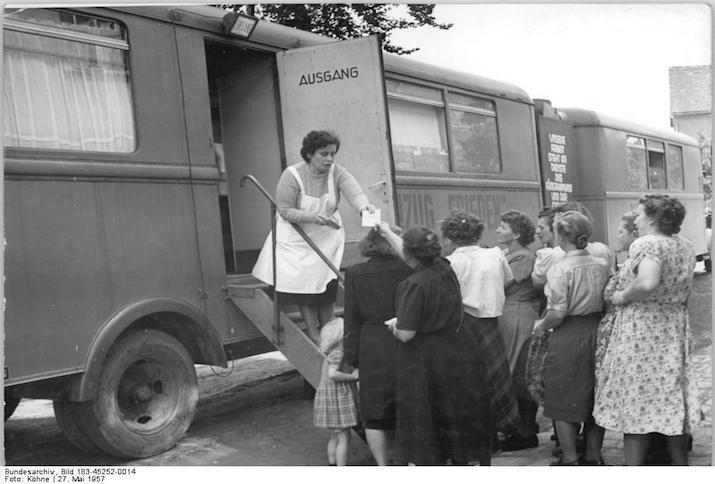 Hermstedt, RöntgenzugZentralbild Köhns Vei-Noa 27.5.1957