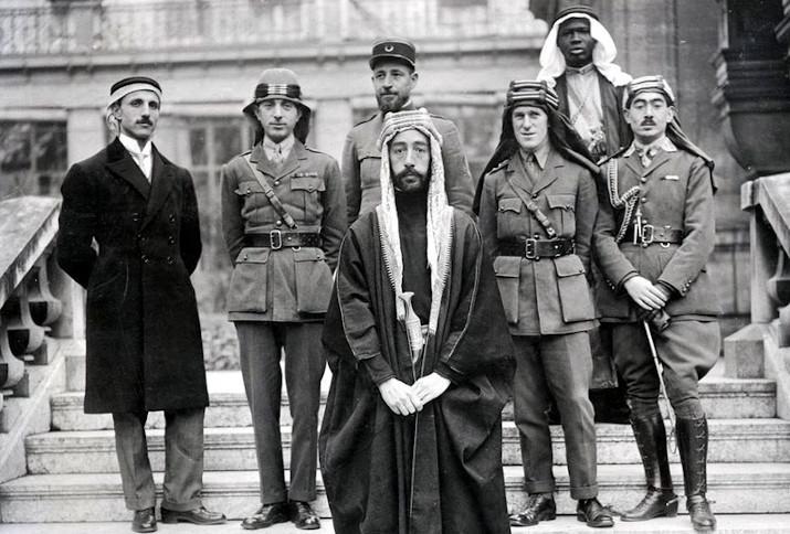Feisal Delegation auf der Pariser Friedenskonferenz