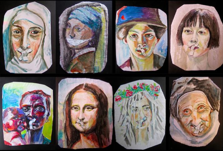 Frauenbilder Maria 2.0.
