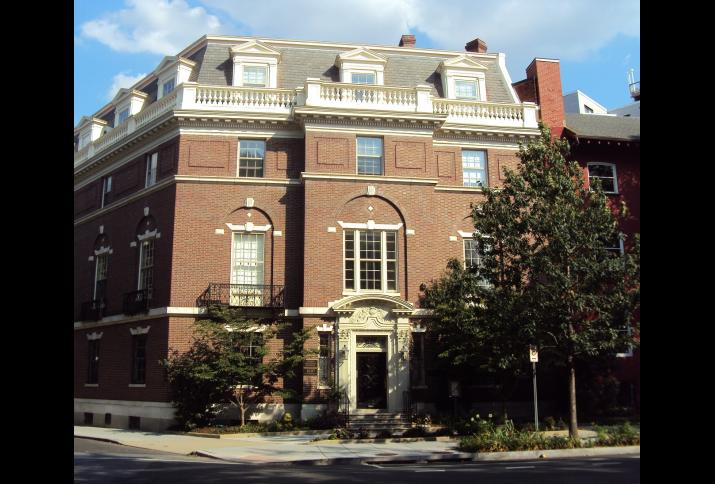 Das Deutsche Historische Institut in Washington (DHI) -- Washingtons Second Blair House in der New Hampshire Avenue NW