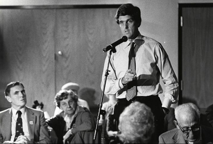 John Kerry 1984 in Boston