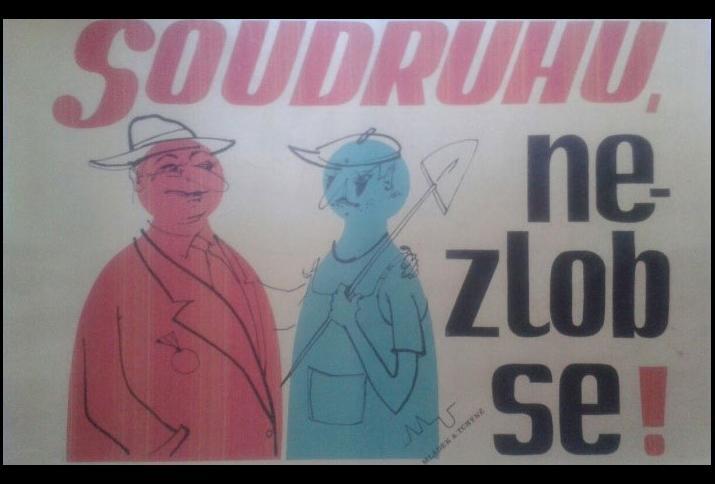 """Foto des Covers von """"Soudruhu, nezlob se!"""""""