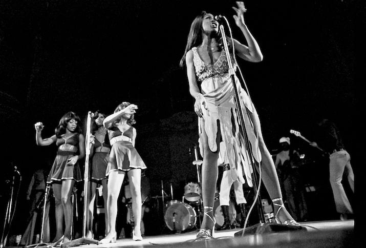 Tina Turner, noch mit Ex Ike, November 1972, Musikhalle Hamburg