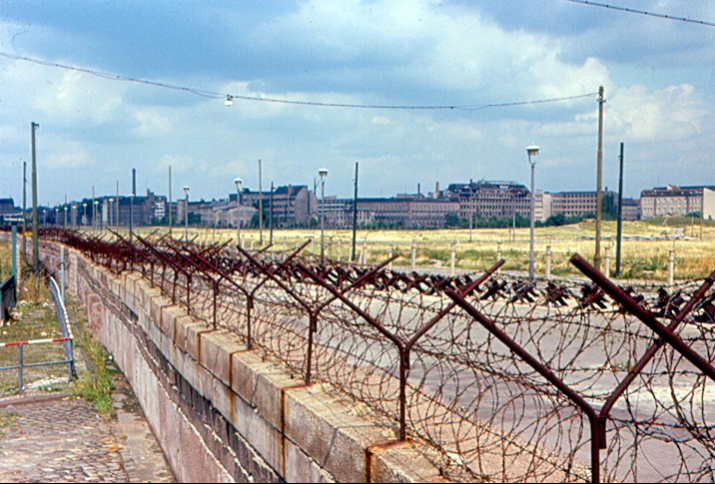 Blick auf Osterblin am 20. August 1963
