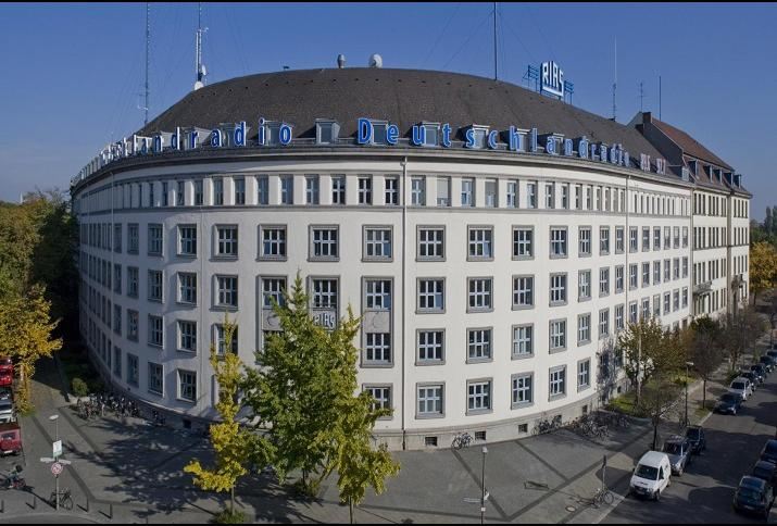 Funkhaus am Hans-Rosenthal-Platz in Berlin. Quelle: Deutschlandradio © Markus Bollen. Datum: 13.12.2018.