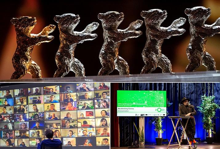 """Collage aus Fotos der digitalen Events und der diesjährigen """"Bären"""""""