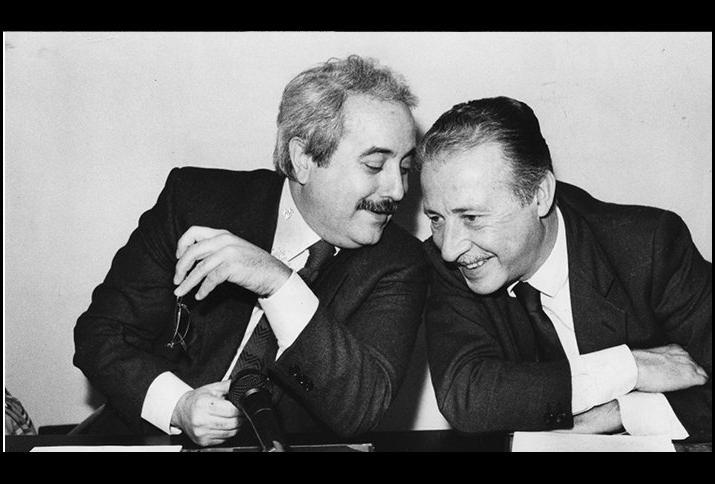 Giovanni Falcone und Paolo Borsellino