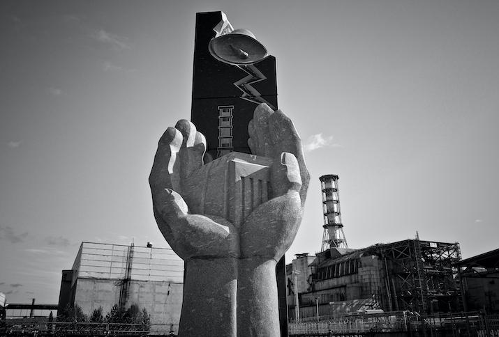 Tschernobyl-Denkmal