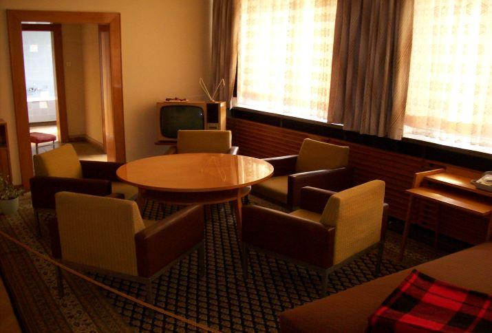 Appartement von Erich Mielke im Ministerium für Staatssicherheit, Normannenstraße