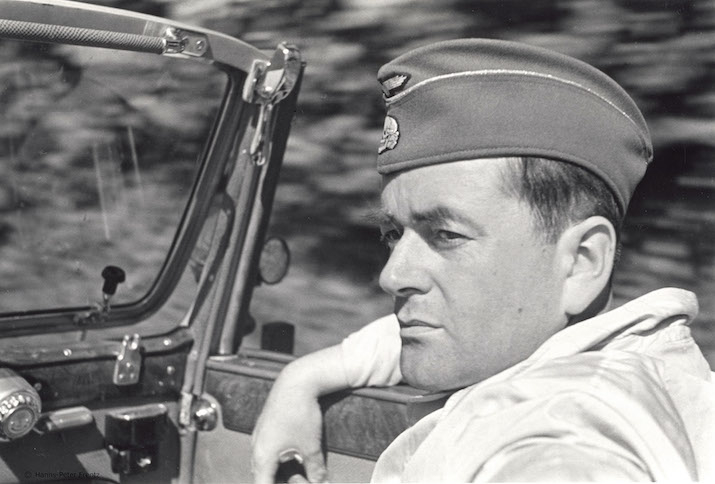 Albert Speer fährt ein Caprio