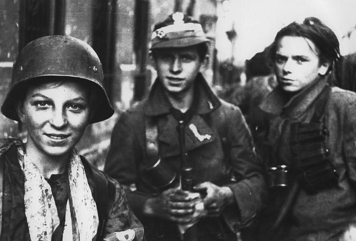 """Soldaten des Bataillons """"Radoslaw Regiment"""""""