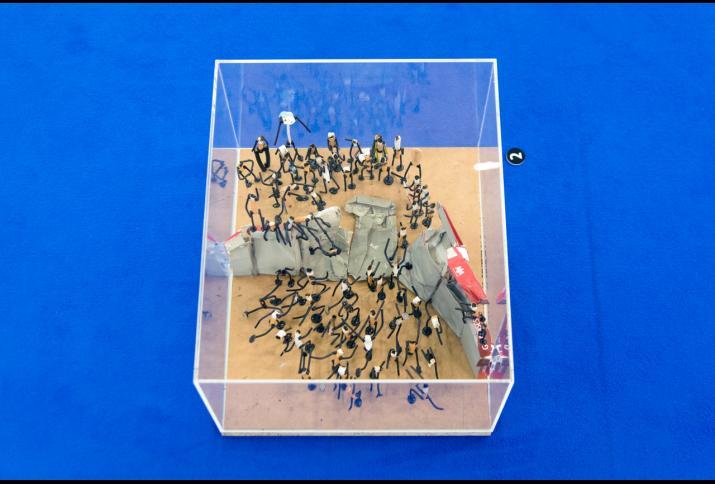 Künstlerische Position aus der Ausstellung