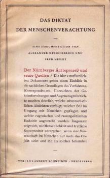 """Buchumschlag """"Das Diktat der Menschenverachtung"""""""