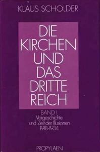 """Buchcover """"Die Kirchen und das Dritte Reich"""""""