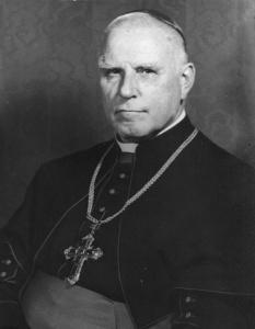 """Der Münsteraner Bischof Clemens August Graf von Galen (""""Der Löwe von Münster"""")."""
