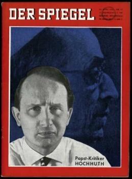 """Cover der """"Spiegel-Ausgabe"""" vom 24. April 1963."""