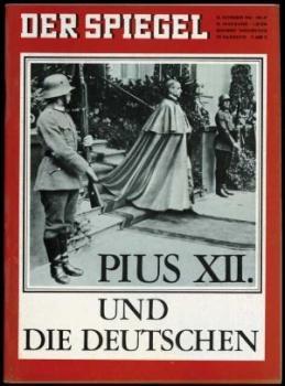 """Cover der """"Spiegel-Ausgabe"""" vom 18. November 1964."""