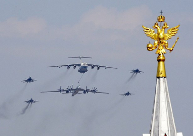 Siegesparade in Moskau 2010