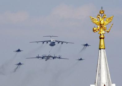 Siegesparade in Moskau 2010