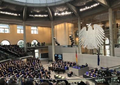 Holocaust-Gedenkstunde im Bundestag, 31.1.2018