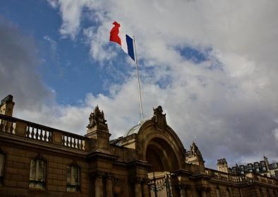 Foto des Elysée-Palastes in Frankreich am 5. Januar 2012