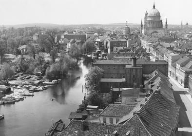 Max Baur, Panorama von der Heiligengeistkirche