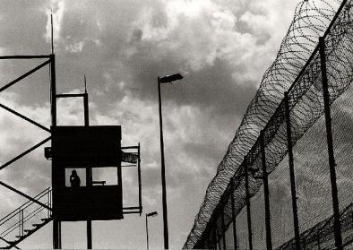 Grenzanlage der spanischen Enklave Melilla