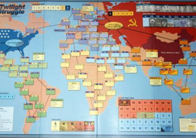 Spielfeld von Twighlight Struggle