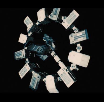Endurance spacecraft im Film Interstellar © Paramount Pictures, Warner Bros
