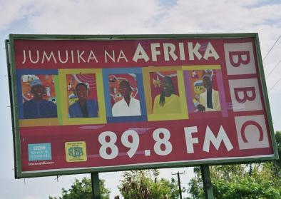 © Mit freundlicher Genehmigung von Benjamin Köhler. Titel: Radiowerbung in Mwanza/Tansania