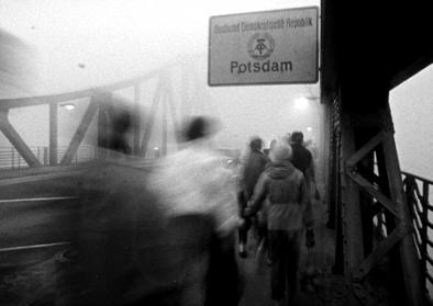 Glienicker Brücke, Potsdam, November 1989